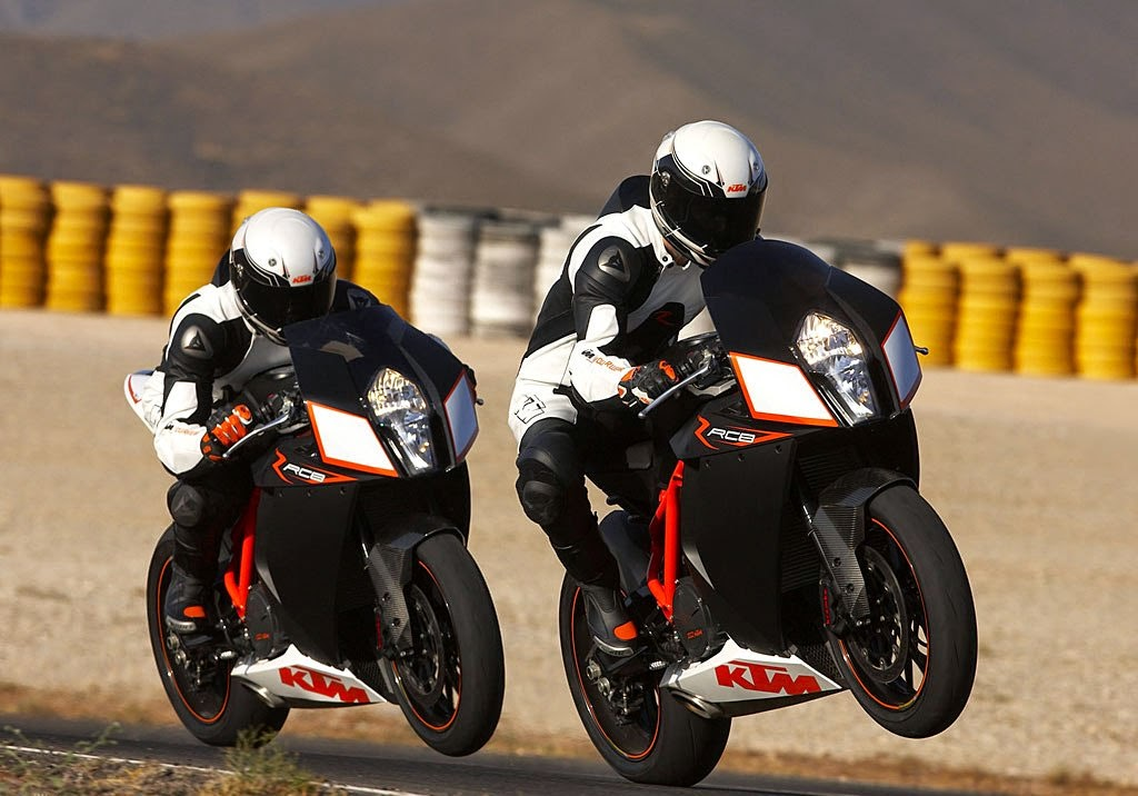 KTM RC8 R Black Sports Bikes HD Images