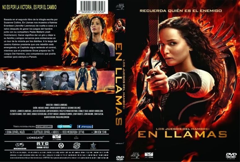 Los Juegos Del Hambre: En Llamas [The Hunger Games: Catching Fire] DVDR [Latino] [2013] [Ciencia Ficción - Aventuras]