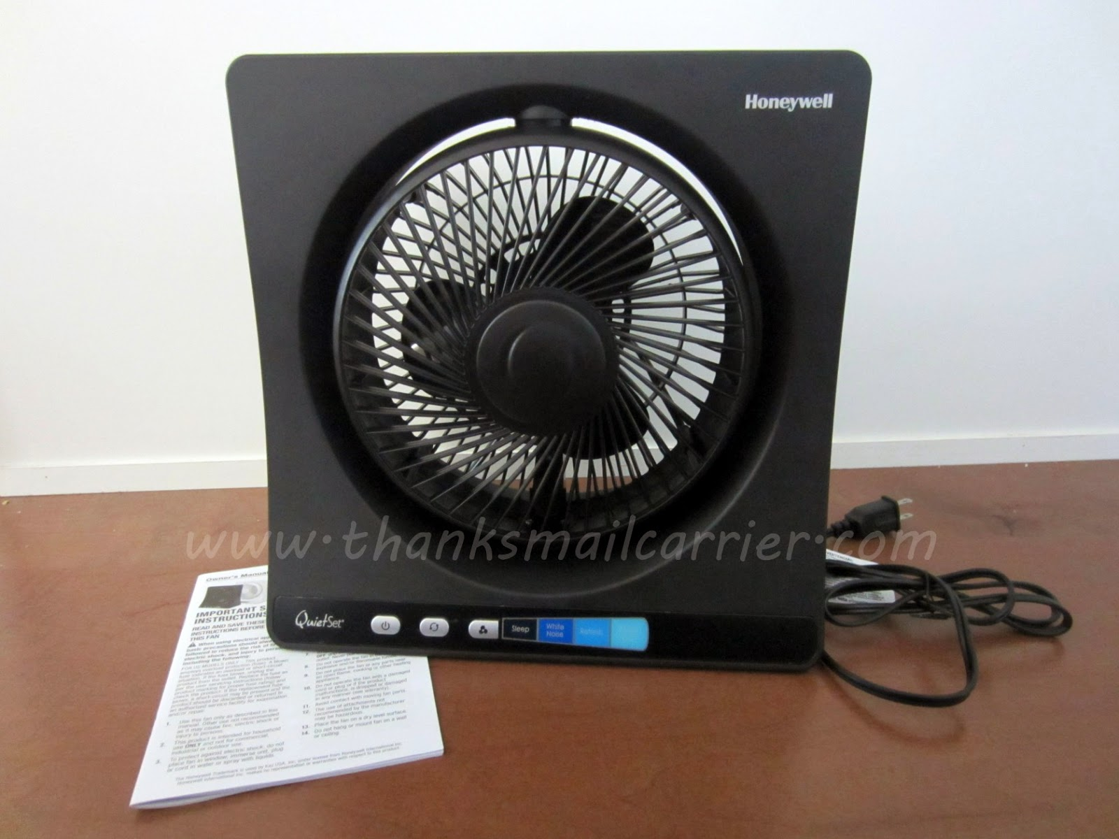 Honeywell QuietSet Table Fan review