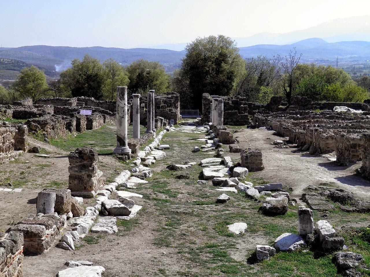 Ο αρχαιολογικός χώρος της Έδεσσας