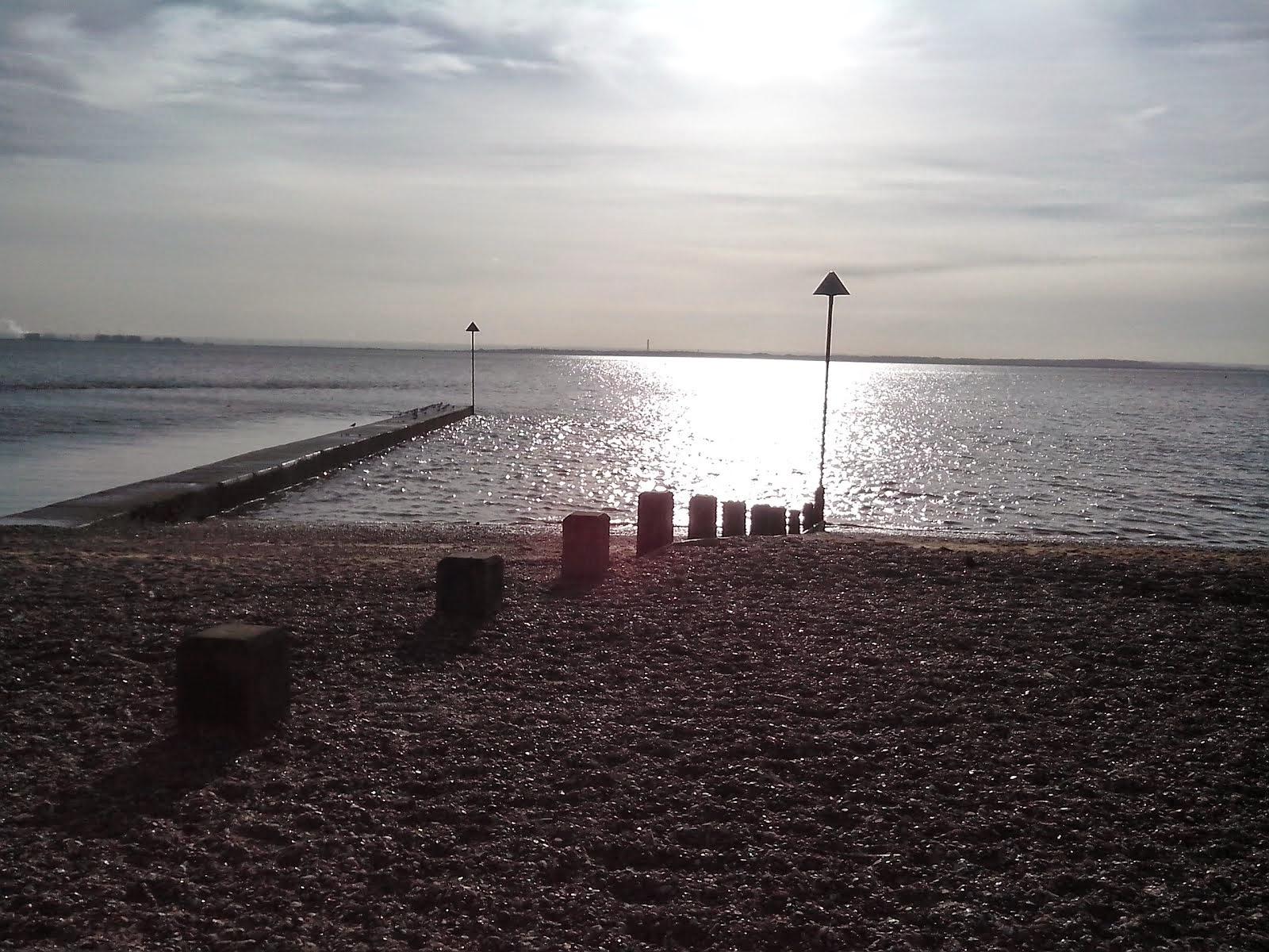 CHALKWELL BEACH, Essex, UK