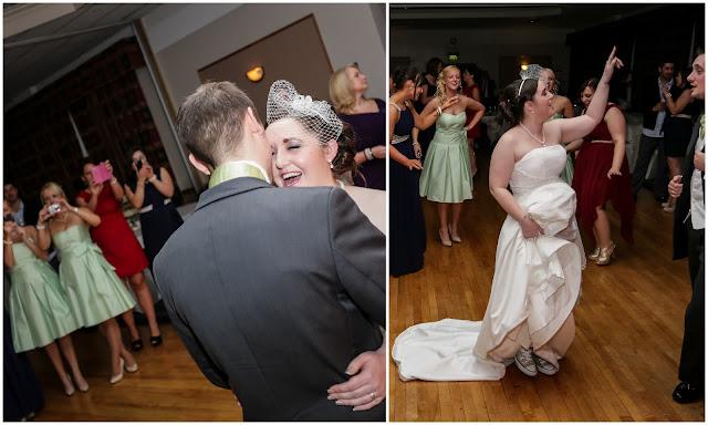 Bride & Groom dancing at Wedding party
