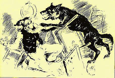 Louis Frechette loup garou