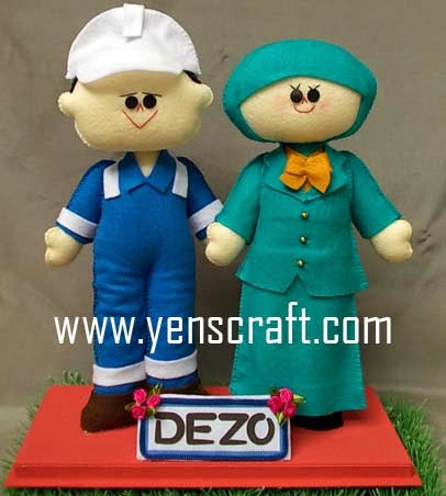 Boneka couple dezo