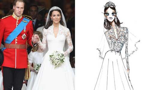 Mannamart blogspot kate middleton 39 s wedding dress for Knock off kate middleton wedding dress