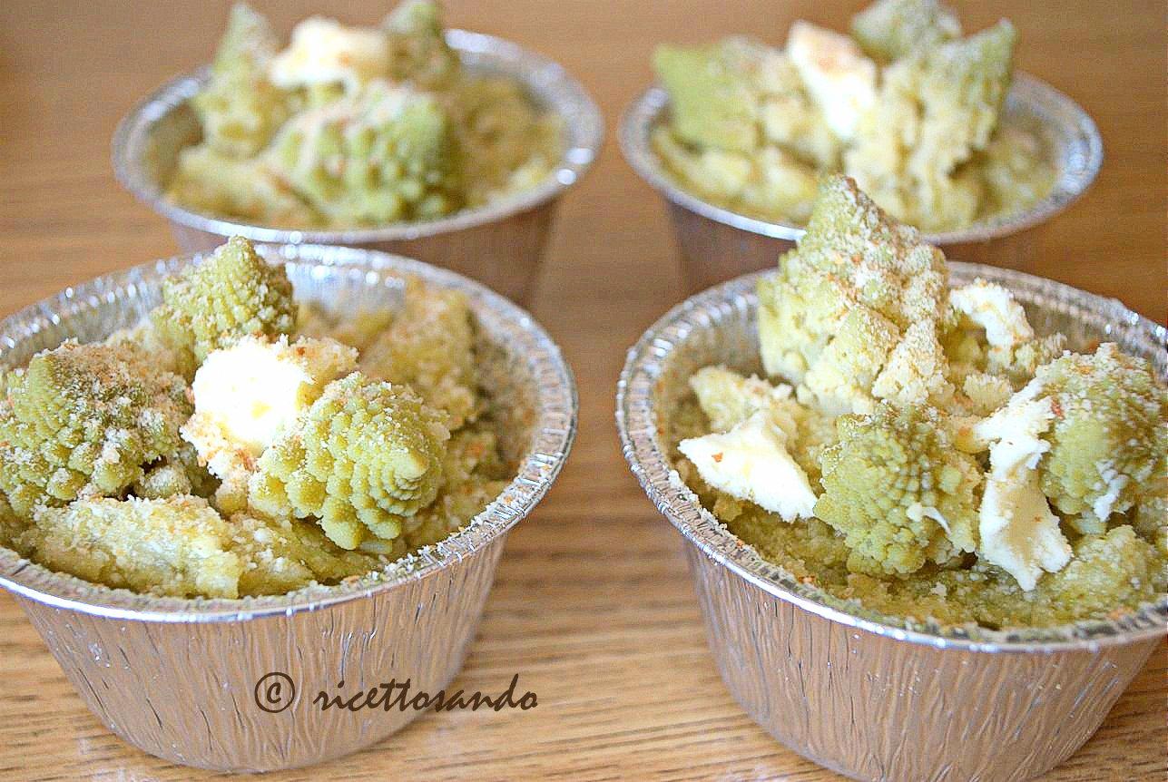 Flan di broccolo romano ricetta vegetariana prepariamo i pirottini