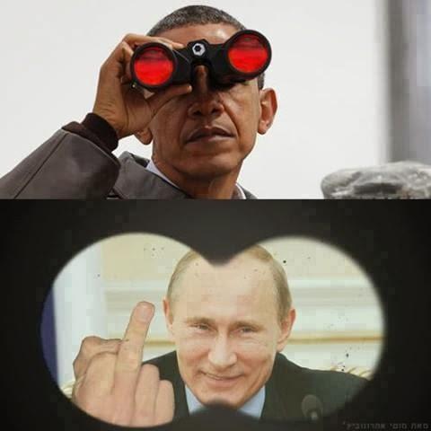 Comparing Putin and Obama...  Meme+77