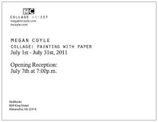Collage: Painting with Paper Megan Coyle Exhibit