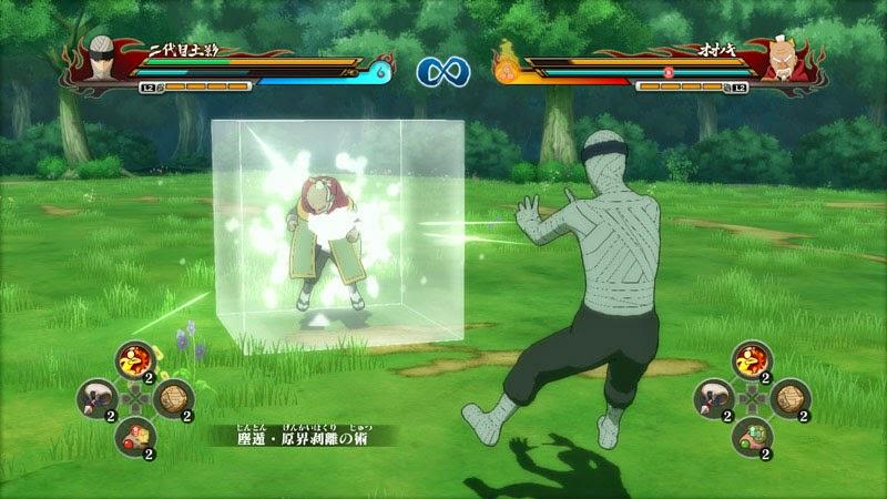 Naruto Storm Revolution Edo Kage Tsuchikage Particle Style jutsu vs Onoki