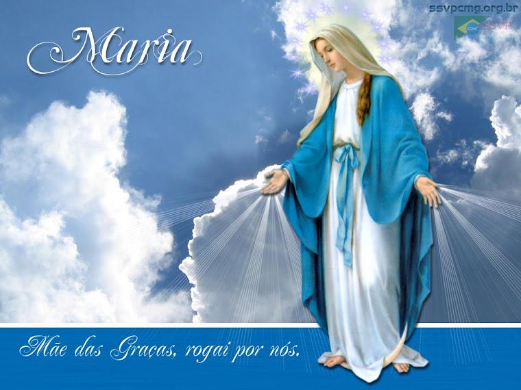 Minha sincera devoção a ti, Mãezinha do Céu!