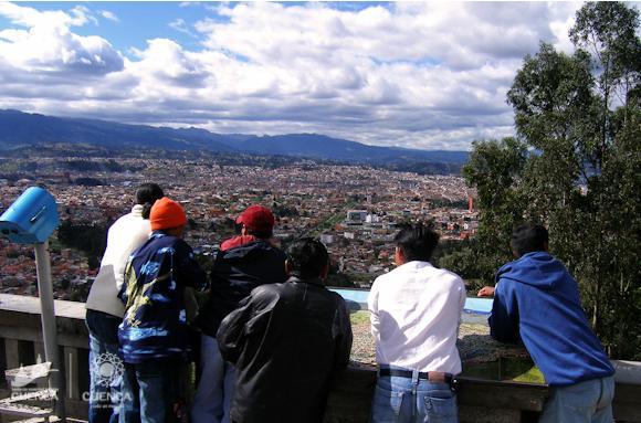 Baño Turco Frecuencia:Turismo en Ecuador Cuenca Mirador de Turi
