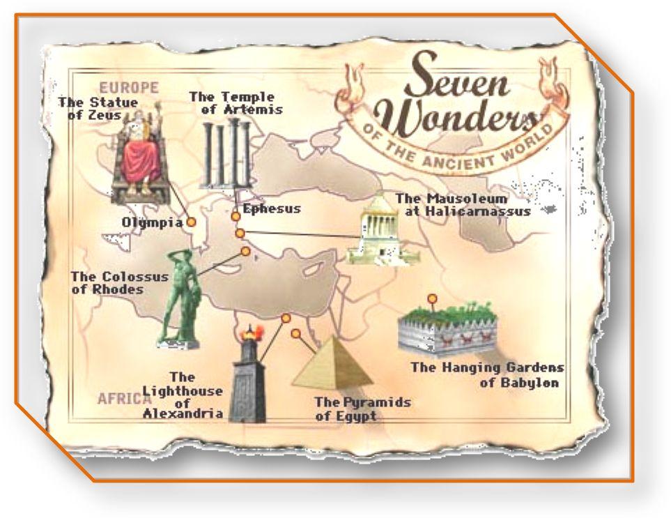 Сочинение на английском языке семь чудес света/ seven wonders of the world с переводом на русский язык скачать