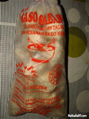 bakso ikan sabar