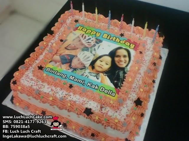 Kue Tart Ulang Tahun Dengan Foto