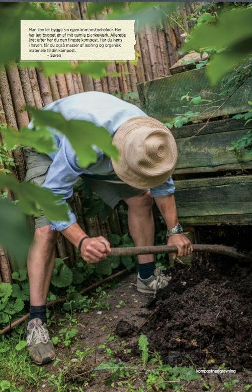 Aarstiderne, køkkenhave, kompost