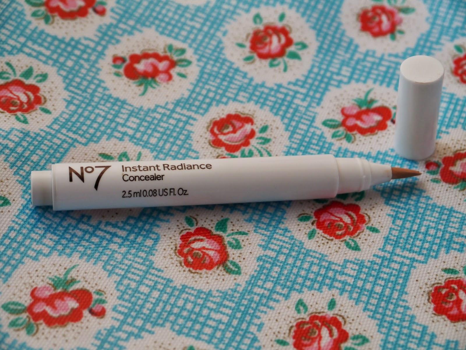 No7 instant radiance concealer
