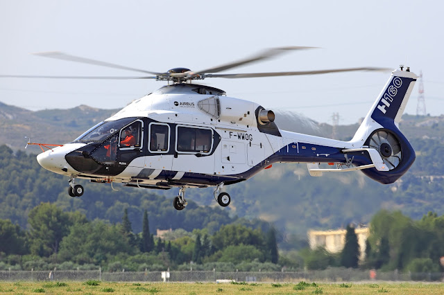 Airbus Helicopters H160 Enters Flight-test Phase