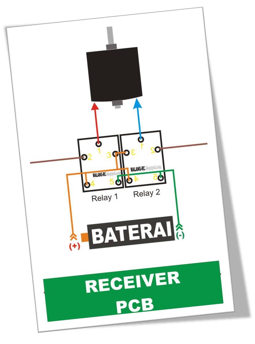 Malang mini radio control skala 128 panduan instalasi relay tempel kedua relay seperti tampak pada gambar di atas agar memudahkan instalasi kabel kabelnya 2 hubungkan kaki kaki relay no 5 ccuart Choice Image