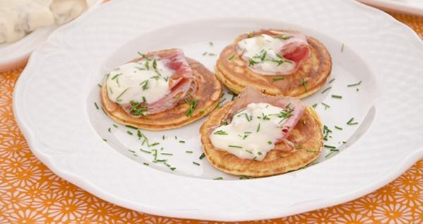 Pancakes Di Ceci Allo Speck