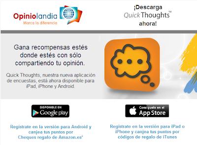 opiniolandia móviles y aplicaciones