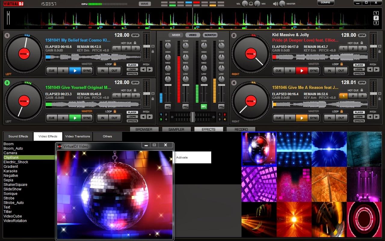 Virtual DJ Pro 7.4.1 Build 482 Full İndir