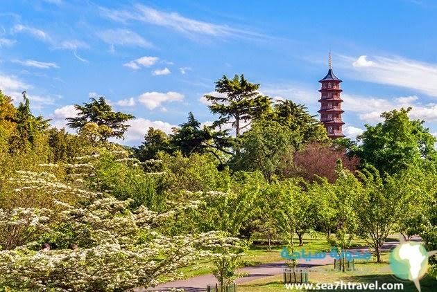 أفضل مناطق الجذب في حدائق كيو
