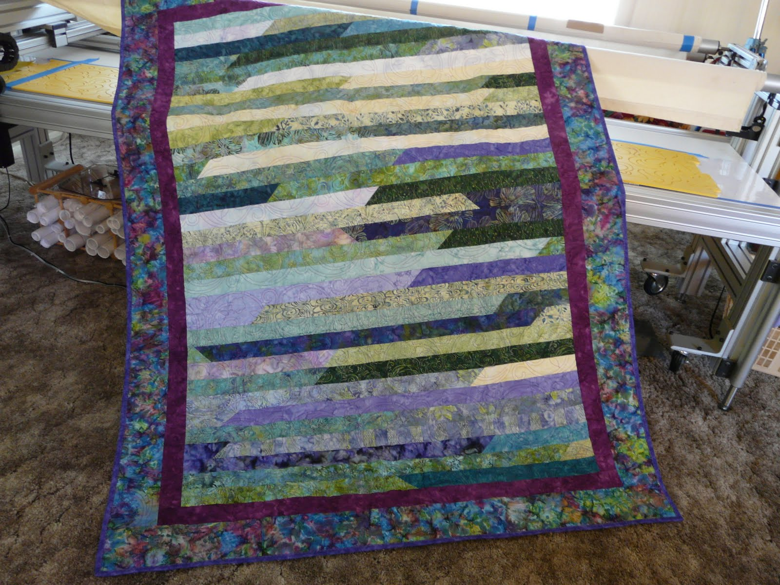 Quilt Pattern Jelly Roll Race : Timber Hill Threads: Jelly Roll Race Quilts