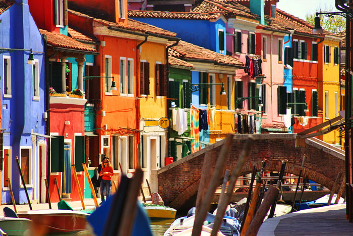 Design amp art magazine photo essay colours of the island of burano in