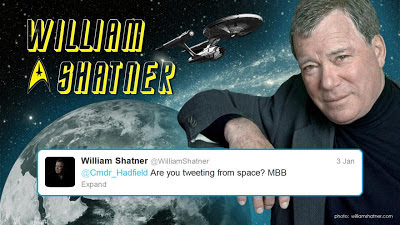 Commander Hadfield on Twitter