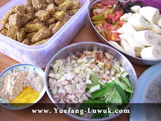 Woku_vegetarian_rempah_daun