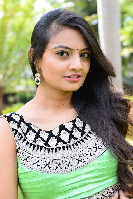 Nikitha Narayan Stills At Mellagaa Thattindi Manasu Talupu Trailer Launch