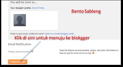 cara membuat blog free di blogger
