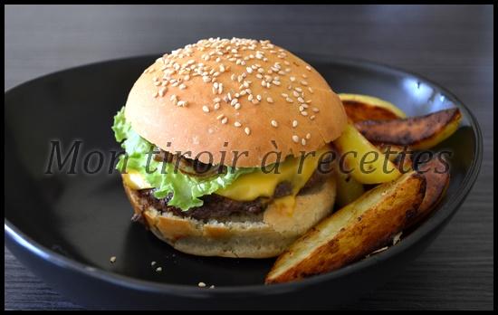 burger oignons confits