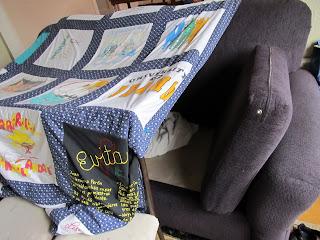 a blanket fort