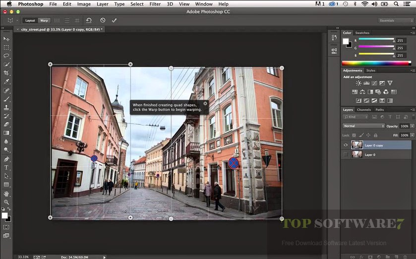 Adobe Photoshop CC Lite 14.2.1 Free Download