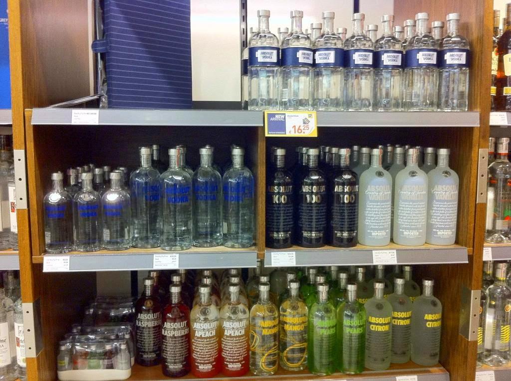 Bebidas em Miami e Orlando | Vodka