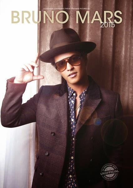 Calendario 2015 Bruno Mars
