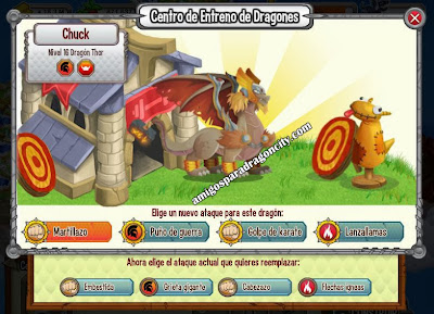 imagen de los ataques del dragon thor