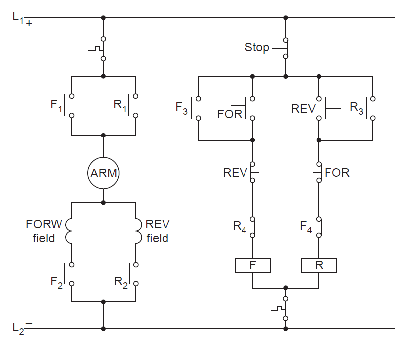 Universal motor diagram for Universal motor speed control circuit