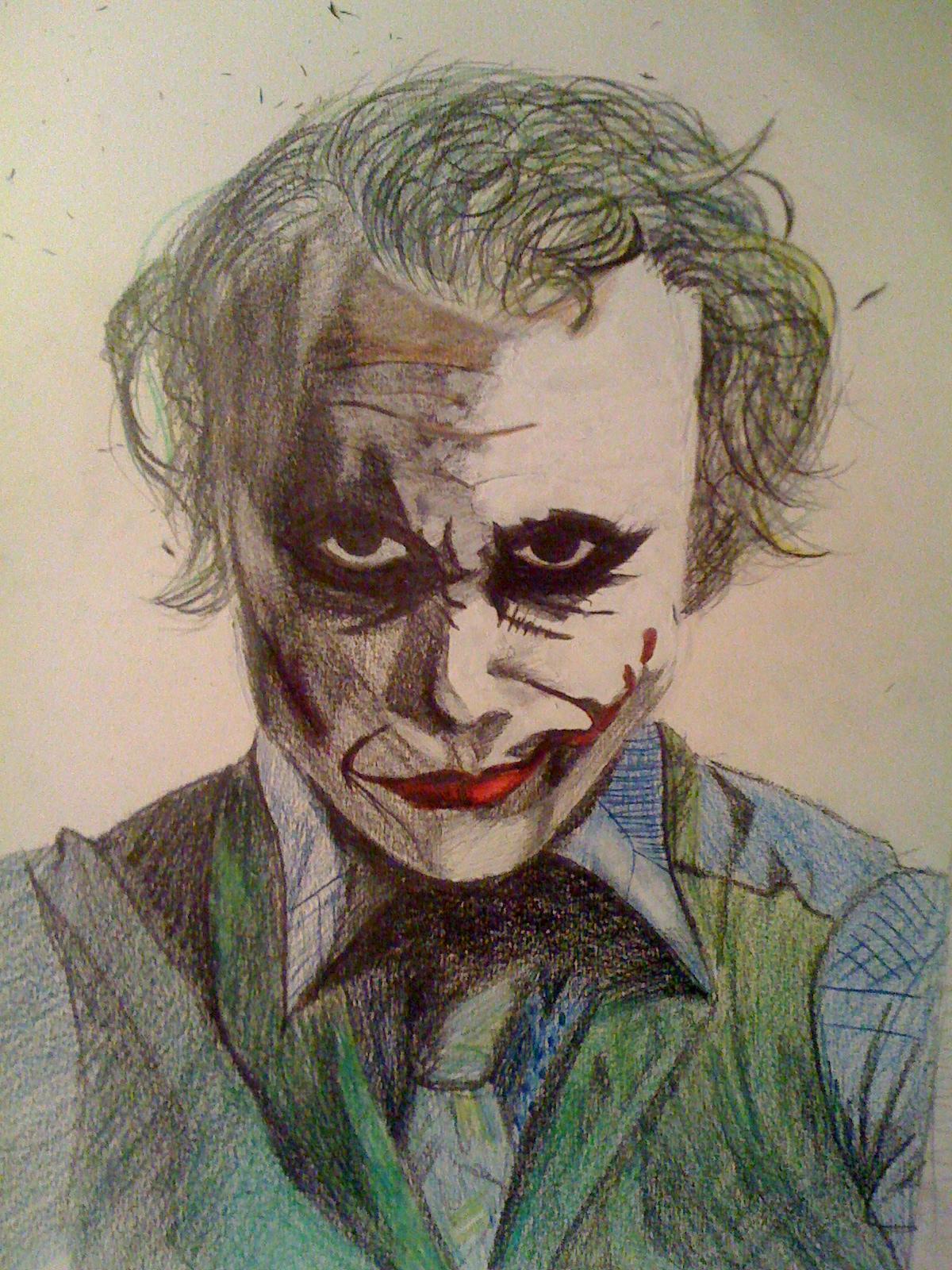 Comment dessiner un joker - Comment dessiner joker ...