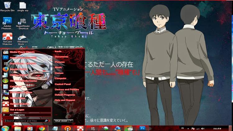 | Theme Win 7 | Tokyo Ghoul 1