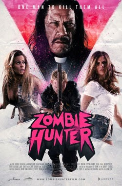 Zombie Hunter 2013 movie poster