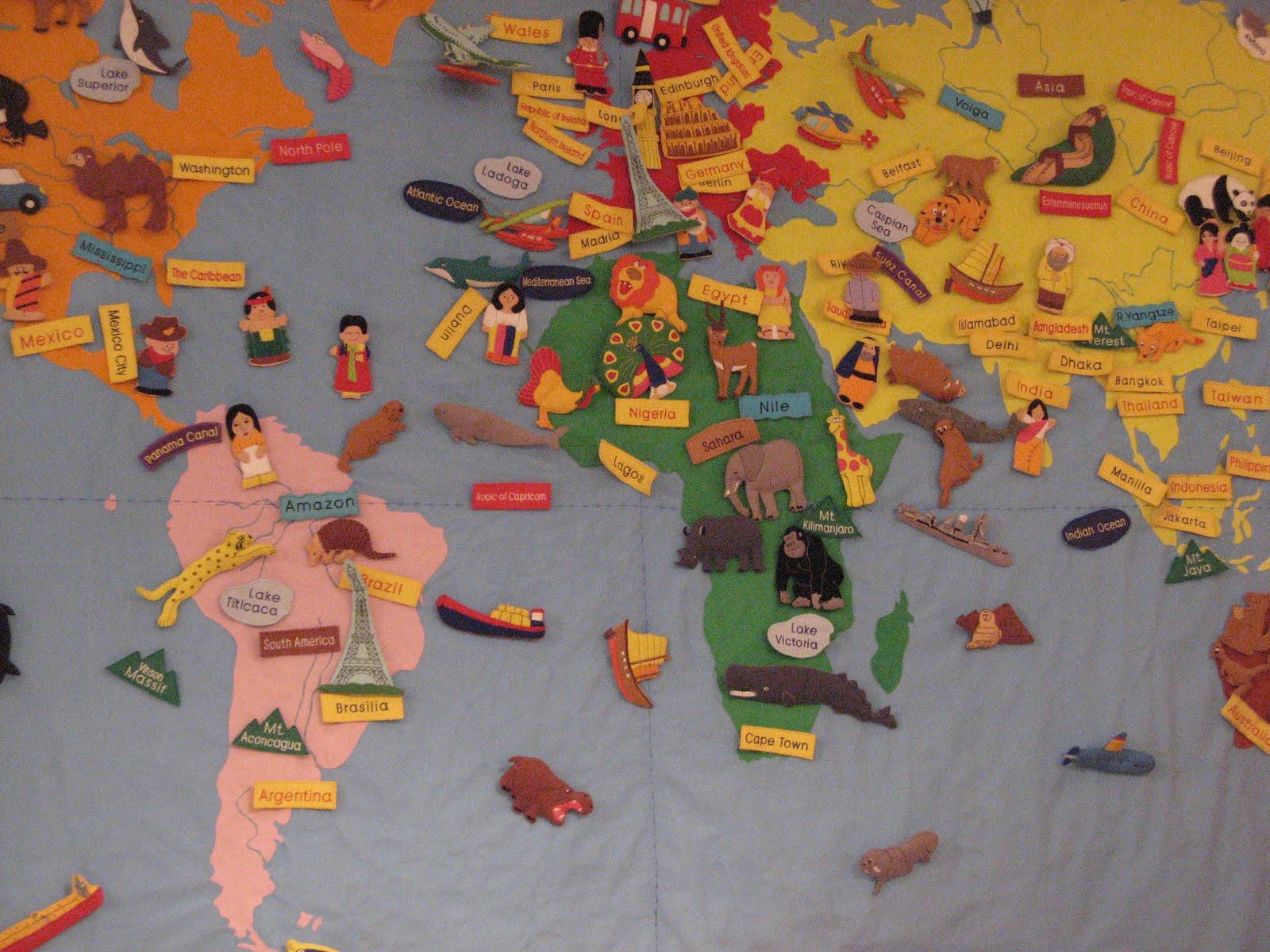 Déco les incontournables de flo: deco chambre d'enfant multicolore