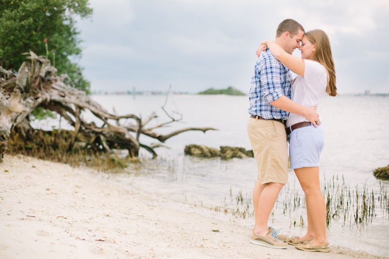 munyon island boat engagement photography