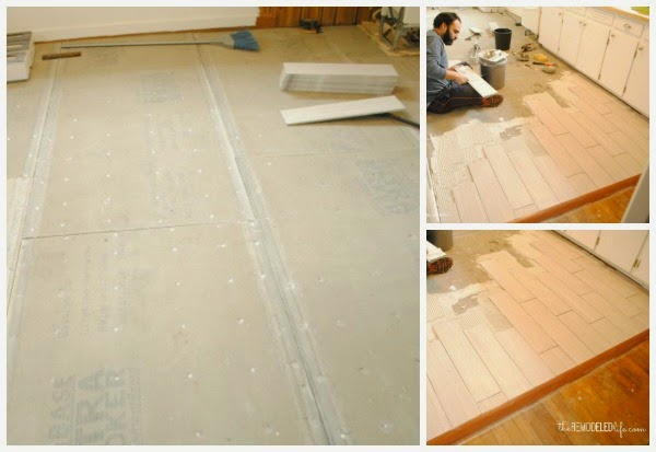 the remodeled life: replacing the kitchen floor