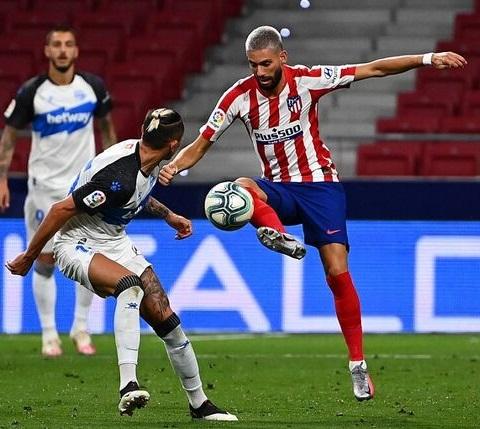 Atlético Madrid le ganó al Alavés y se reafirma como tercero de la Liga