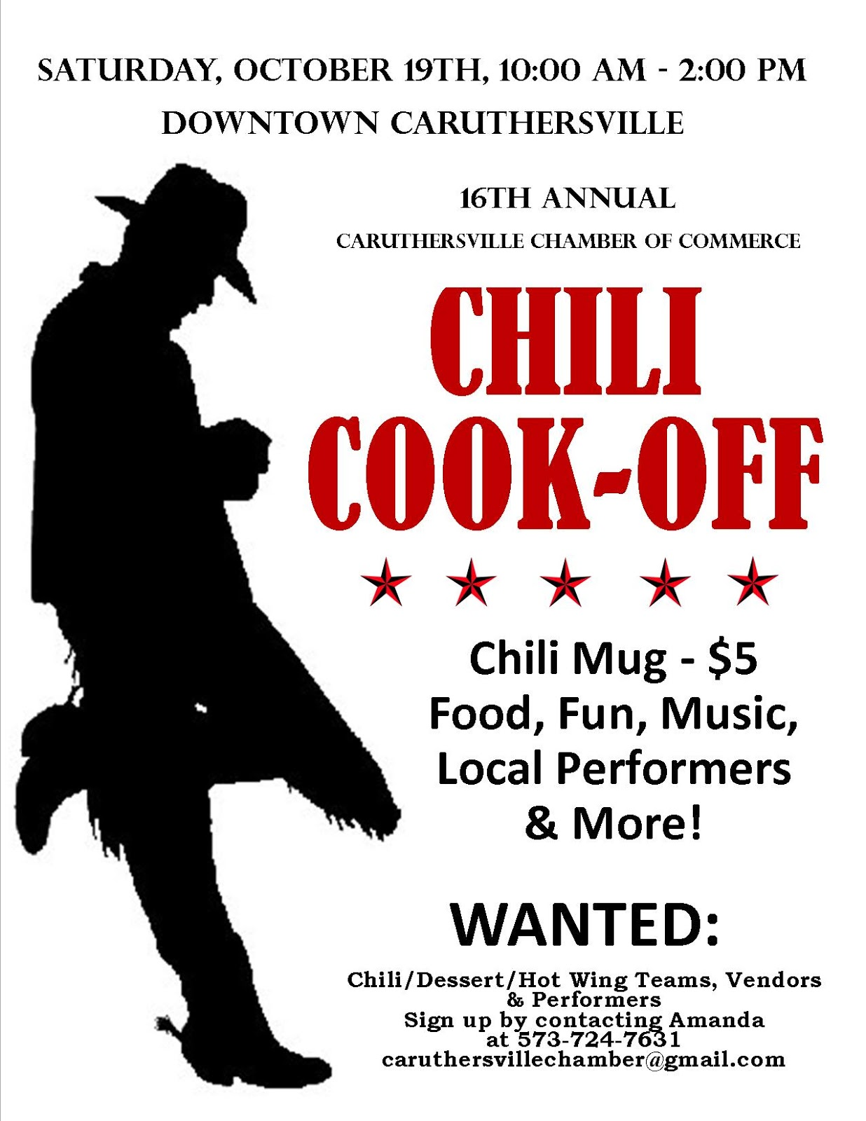 Chili Cookoff Flyers Antaexpocoachingco - Chili cook off flyer template free