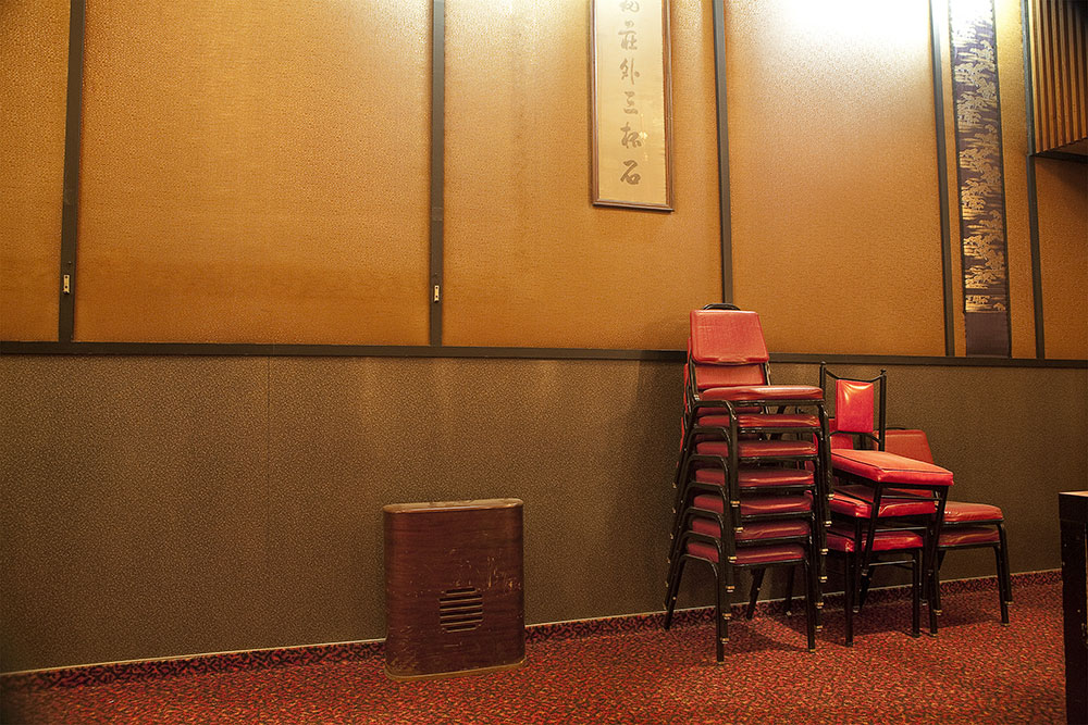 SARA JANE BOYERS: Finding Chinatown. Stacked Chairs ...