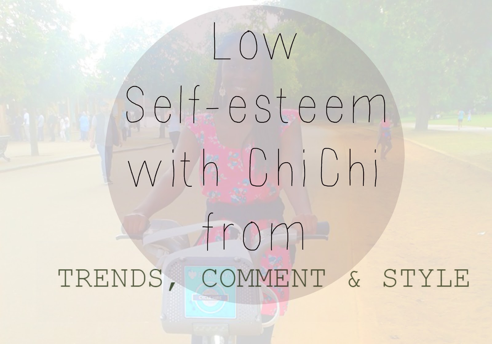 Low self-esteem and confidence
