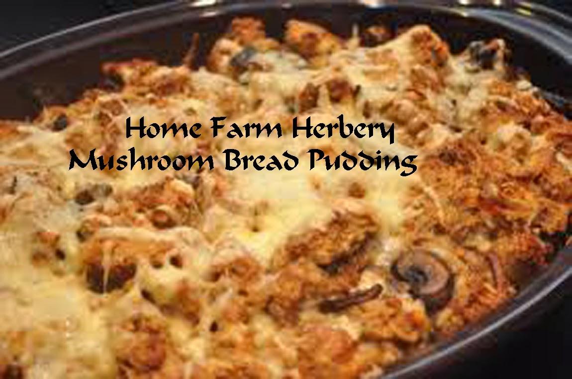 Learn-America » Mushroom Bread Pudding
